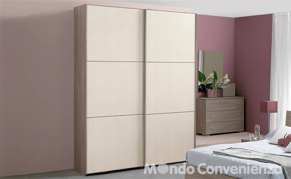 Armadi mondo convenienza armadio componibile for Letto eleonora mondo convenienza