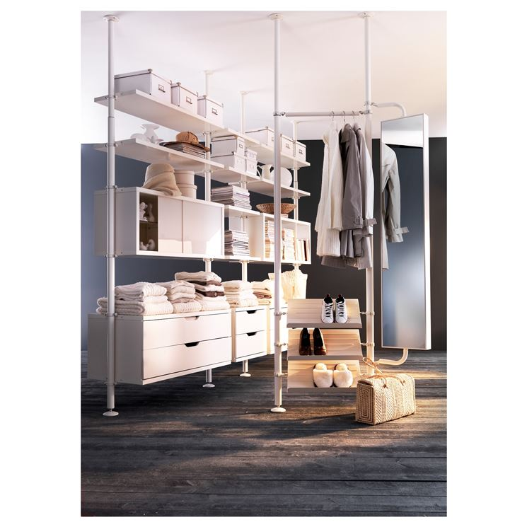 ikea cabina armadio su misura le cabine armadio economiche. Black Bedroom Furniture Sets. Home Design Ideas